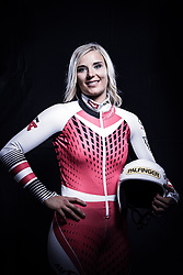 12.10.2019, Olympiahalle, Innsbruck, AUT, FIS Weltcup Ski Alpin, im Bild Elisabeth Reisinger // during Outfitting of the Ski Austria Winter Collection and the official Austrian Ski Federation 2019/ 2020 Portrait Session at the Olympiahalle in Innsbruck, Austria on 2019/10/12. EXPA Pictures © 2020, PhotoCredit: EXPA/ JFK