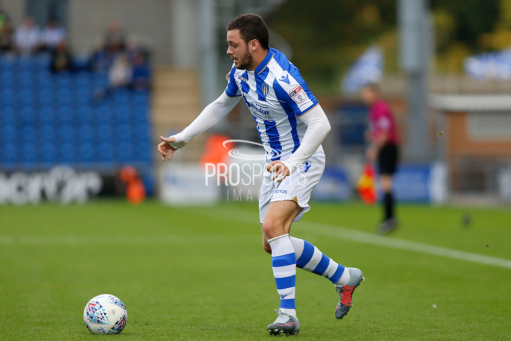 Colchester United's Drey Wright(7) during the EFL Sky Bet League 2 match between Colchester United and Carlisle United at the Weston Homes Community Stadium, Colchester, England on 14 October 2017. Photo by Phil Chaplin