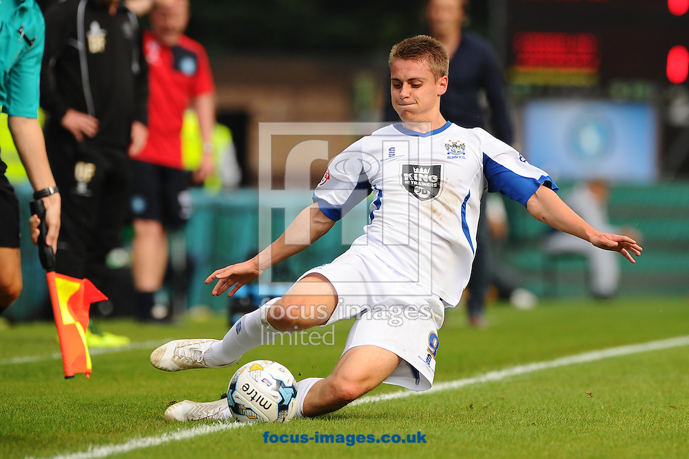 Danny Rose of Bury just manages to keep the ball in play during the Sky Bet League 2 match at Adams Park, High Wycombe<br /> Picture by Seb Daly/Focus Images Ltd +447738 614630<br /> 06/09/2014