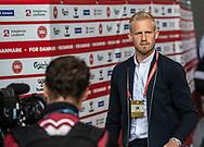 FOOTBALL: Kasper Schmeichel (Denmark) arrives at the stadium before the EURO 2020 Qualifier match between Denmark and Georgia at Parken Stadium on June 10, 2019 in Copenhagen, Denmark. Photo by: Claus Birch / ClausBirchDK.