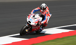 Octo Pramac Scott Redding during a practice session ahead of the British Grand Prix at Silverstone, Towcester. PRESS ASSOCIATION Photo. Picture date: Friday August 25, 2017. See PA story MOTO British. Photo credit should read: David Davies/PA Wire. RESTRICTIONS: Editorial use only. No commercial use.