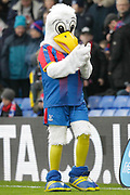 Pete the Crystal Palace mascot during the Premier League match between Crystal Palace and Chelsea at Selhurst Park, London, England on 30 December 2018.