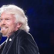 NLD/Amsterdam/20161004 - Wereldpremiere van Inspiration360 2016, Richard Branson