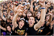 Heavy Metal fans during Montreal's HeavyMTL festival. PHOTO BY TIM SNOW