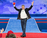 Sean Hannity at the American Conservative Union's 2017 Conservative Political Action Conference (CPAC)