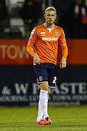 Jayden Stockley of Luton Town, currently on loan from AFC Bournemouth, during the Sky Bet League 2 match at Kenilworth Road, Luton<br /> Picture by David Horn/Focus Images Ltd +44 7545 970036<br /> 08/01/2015