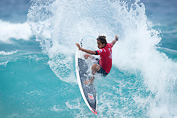 Samuel Pupo of Brazil winning Heat 4 of Round 4 at the Jeep World Junior Championship at Kiama.