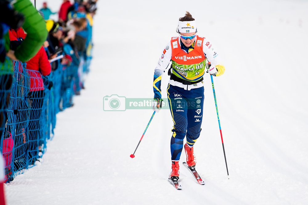 January 6, 2018 - Val Di Fiemme, ITALY - 180106 Emma WikŽn of Sweden during warm-up ahead of women's 10km mass start classic technique during Tour de Ski on January 6, 2018 in Val di Fiemme..Photo: Jon Olav Nesvold / BILDBYRN / kod JE / 160122 (Credit Image: © Jon Olav Nesvold/Bildbyran via ZUMA Wire)