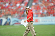 Ole Miss head coach Hugh Freeze vs. Vanderbilt at L.P. Field in Nashville, Tenn. on Saturday, September 6, 2014. Ole Miss won 41-3.