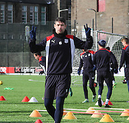 Dundee&rsquo;s Darren O&rsquo;Dea - Dundee FC training ahead of the visit to Motherwell at GA Arena, Dundee.Photo: David Young<br /> <br />  - &copy; David Young - www.davidyoungphoto.co.uk - email: davidyoungphoto@gmail.com