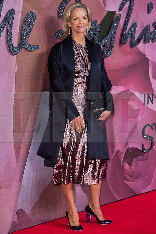 © Licensed to London News Pictures. 05/12/2016. ELIZABETH MURDOCH arrives for The Fashion Awards 2016 celebrating the best of British and international fashion. London, UK. Photo credit: Ray Tang/LNP