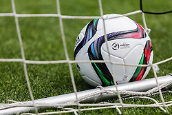03.06.2015, Steinbergstadion, Leogang, AUT, U 21 EM, Vorbereitung Deutschland, im Bild der Offizielle Adidas Spielball der U 21 Europameisterschaft // the official Matchball of the under 21 European Championships during Trainingscamp of Team Germany for Preparation of the UEFA European Under 21 Championship at the Steinbergstadium in Leogang, Austria on 2015/06/03. EXPA Pictures © 2015, PhotoCredit: EXPA/ JFK