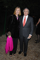 SIR JACKIE & LADY STEWART at the annual Cartier Chelsea Flower Show dinner held at the Chelsea Physic Garden on 21st May 2007.<br />
