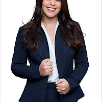 Corporate studio portrait of a businesswoman.