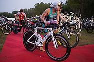 , June 8, 2014 - TRIATHLON : Ironman Cairns / Cairns Airport Adventure Festival, Palm Cove - Captain Cook Highway - Cairns Esplanade, Cairns, Queensland, Australia. Credit: Lucas Wroe