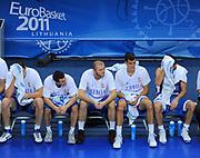 DESCRIZIONE : Vilnius Lithuania Lituania Eurobasket Men 2011 Second Round Spagna Serbia Spain Serbia<br /> GIOCATORE : Dusan Ivkovic<br /> CATEGORIA : panchina team coach<br /> SQUADRA : Serbia<br /> EVENTO : Eurobasket Men 2011<br /> GARA : Spagna Serbia Spain Serbia<br /> DATA : 09/09/2011<br /> SPORT : Pallacanestro <br /> AUTORE : Agenzia Ciamillo-Castoria/T.Wiendesohler<br /> Galleria : Eurobasket Men 2011<br /> Fotonotizia : Vilnius Lithuania Lituania Eurobasket Men 2011 Second Round Spagna Serbia Spain Serbia<br /> Predefinita :