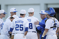 UK head coach UK Baseball hosted U of L, Tuesday, April 10, 2012 at Cliff Hagan Stadium in Lexington.