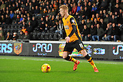 Hull City midfielder Sam Clucas during the Sky Bet Championship match between Hull City and Reading at the KC Stadium, Kingston upon Hull, England on 16 December 2015. Photo by Ian Lyall.