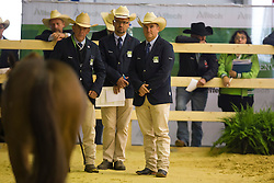 Judges - Horse Inspection Reining  - Alltech FEI World Equestrian Games™ 2014 - Normandy, France.<br /> © Hippo Foto Team - Dirk Caremans<br /> 25/06/14