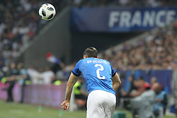 June 1, 2018 - Paris, Ile-de-France, France - Mattia De Sciglio (Italy) during the friendly football match between France and Italy at Allianz Riviera stadium on June 01, 2018 in Nice, France..France won 3-1 over Italy. (Credit Image: © Massimiliano Ferraro/NurPhoto via ZUMA Press)