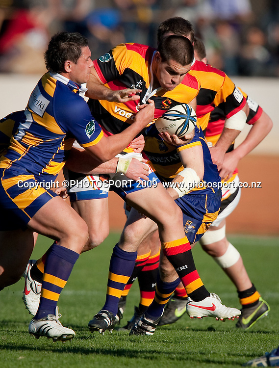 Waikato Dwayne Sweeney during the Air New Zealand Cup rugby match between Waikato and Bay of Plenty won by BOP 32-16 at Bay Park Stadium, Tauranga, New Zealand, Saturday 22 August 2009. Photo: Stephen Barker/PHOTOSPORT
