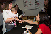 Author and television celebrity Bethany Frankel signs autographs at the TASTE Festival of Food, Wine and Spirits at The Greater Philadelphia Expo Center in Oaks, PA.