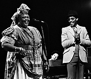 Miss Louise Bennett in concert with Linton Kwesi Johnson - London 1983