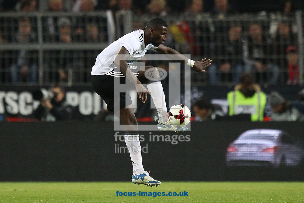 Antonio Rudiger of Germany in action during the International Friendly match at Signal Iduna Park, Dortmund<br /> Picture by Paul Chesterton/Focus Images Ltd +44 7904 640267<br /> 22/03/2017