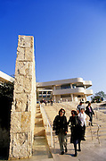 Image of The Getty Center in Brentwood, Los Angeles, California, America west coast