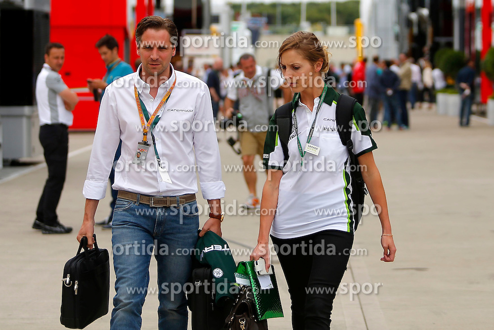 03.07.2014, Silverstone Circuit, Silverstone, ENG, FIA, Formel 1, Grand Prix von Grossbritannien, Vorberichte, im Bild Christian Albers (NED) Caterham Team Principal // during the preperation of British Formula One Grand Prix at the Silverstone Circuit in Silverstone, Great Britain on 2014/07/03. EXPA Pictures &copy; 2014, PhotoCredit: EXPA/ Sutton Images/ Martini<br /> <br /> *****ATTENTION - for AUT, SLO, CRO, SRB, BIH, MAZ only*****