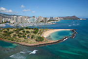 Magic Island, Ala Moana Beach Park, Honolulu, Oahu
