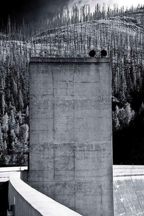 Hungry Horse Dam and Reservoir