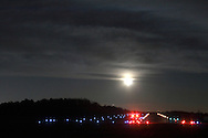 Town of Wallkill, NY -  Moonrise on Nov. 25, 2007.