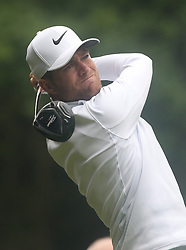 May 25, 2018 - Surrey, United Kingdom - Lucas Bjerregaard (DEN).during The BMW PGA Championship Round 2 at Wentworth Club Virgnia Water, Surrey, United Kingdom on 25 May 2018  (Credit Image: © Kieran Galvin/NurPhoto via ZUMA Press)