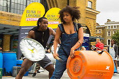 2015-07-17. Busk in London launches at King's Cross