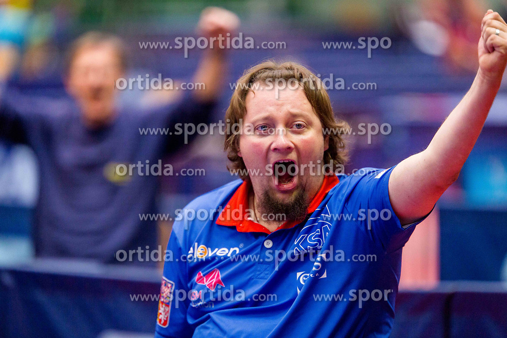 SUCHANEK Jiri during day 3 of 15th EPINT tournament - European Table Tennis Championships for the Disabled 2017, at Arena Tri Lilije, Lasko, Slovenia, on September 30, 2017. Photo by Ziga Zupan / Sportida