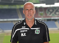German Soccer Bundesliga 2015/16 - Photocall of Hannover 96 on 13 July 2015 in Hanover, Germany: coach Michael Frontzeck