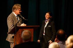 Kemperman Frank, (NED), Mayer Carina, (SUI)<br /> Global Dressage Forum<br /> Academy Bartels - Hooge Mierden 2015<br /> © Hippo Foto - Dirk Caremans<br /> 26/10/15