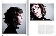 Nona Fernandez, escritora y guionista chilena. Especial 40 años de revista Que Pasa