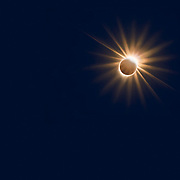 Diamond Ring from the Great American Eclipse of 2017