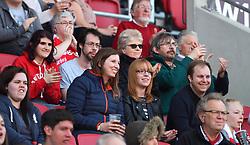 Spectators at Ashton Gate - Mandatory by-line: Paul Knight/JMP - 22/04/2017 - FOOTBALL - Ashton Gate - Bristol, England - Bristol City Women v Reading Women - FA Women's Super League 1 Spring Series