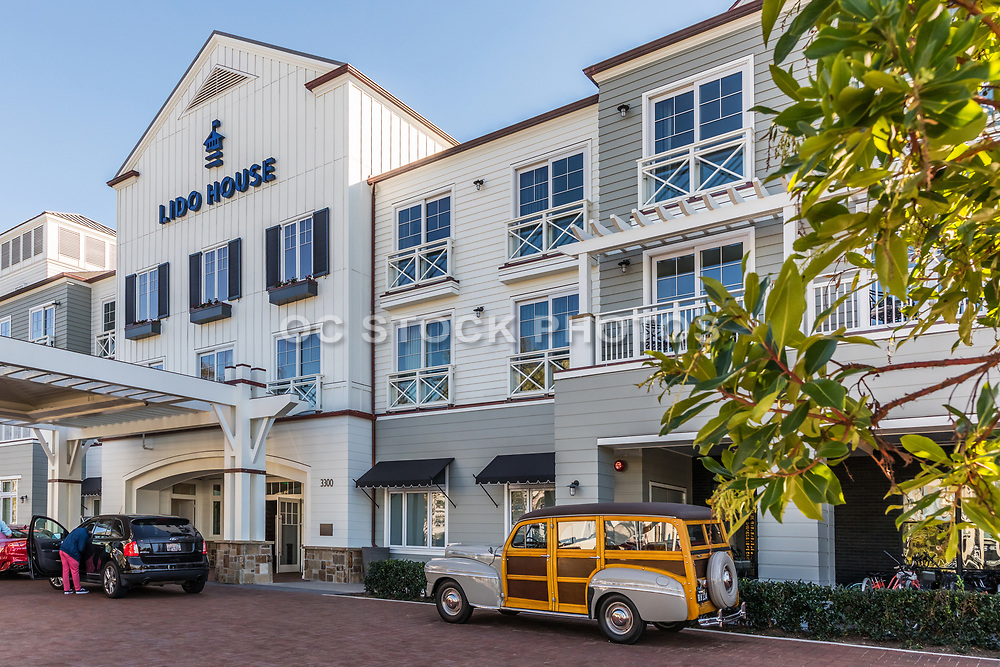New Beach Style Hotel Lido House Hotel Autograph Collection in Newport Beach California