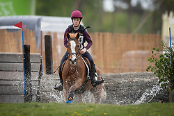 Cas Lore, BEL, Up Wind's Byoutie<br /> Nationaal Kampioenschap Eventing Minderhoud 2018<br /> © Hippo Foto - Dirk Caremans