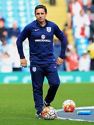 England Coach Gary Neville - Mandatory byline: Matt McNulty/JMP - 07966386802 - 22/05/2016 - FOOTBALL - Etihad Stadium -Manchester,England - England v Turkey - International Friendly
