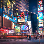 Times Square, the most bustling square of New York is known for its many Broadway theatres, cinemas and electronic billboards. It is one of those places that make New York a city that never sleeps.