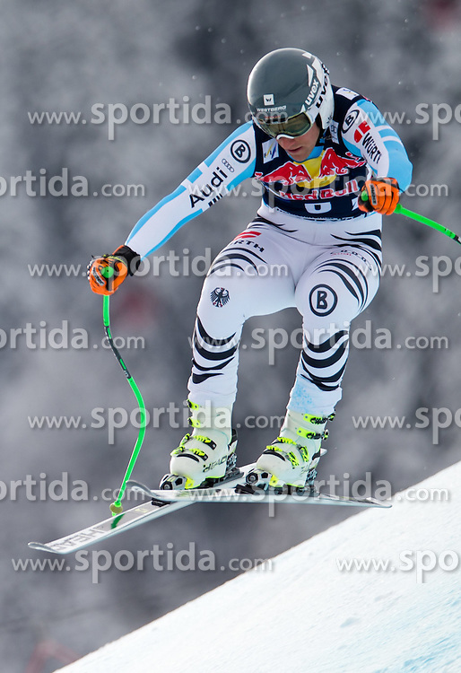 20.01.2015, Streif, Kitzbuehel, AUT, FIS Ski Weltcup, Abfahrt, Herren, 1. Training, im Bild Josef Ferstl (GER) // Josef Ferstl of Germany in action during first practice run for the mens Downhill of Kitzbuehel FIS Ski Alpine World Cup at the Streif Course in Kitzbuehel, Austria on 2015/01/20. EXPA Pictures © 2015, PhotoCredit: EXPA/ Johann Groder