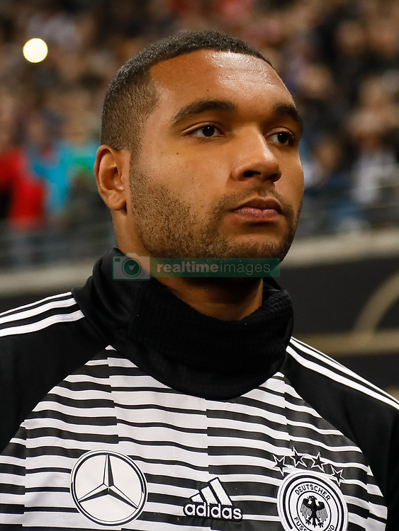 November 15, 2018 - Leipzig, Germany - Jonathan Tah of Germany looks on during the international friendly match between Germany and Russia on November 15, 2018 at Red Bull Arena in Leipzig, Germany. (Credit Image: © Mike Kireev/NurPhoto via ZUMA Press)