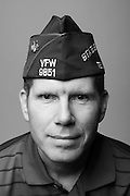 David Jungquist<br /> Army<br /> Lt.Col. (O-5)<br /> Artillery, Logistics<br /> 1988-2014<br /> Desert Storm, Desert Shield, OIF<br /> <br /> Veterans Portrait Project<br /> Louisville, KY<br /> VFW Convention <br /> (Photos by Stacy L. Pearsall)