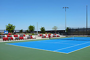 Championship Court with Stadium Seating at the Great Park Tennis Facility