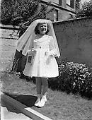 1957 Deirdre Colgan (Jnr) - First Holy Communion